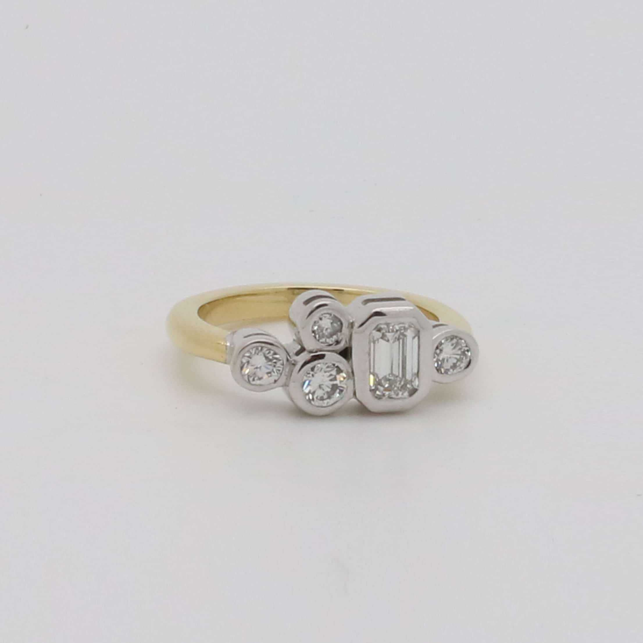 diamond platinum products and rings engagement new ring modern bespoke eternity
