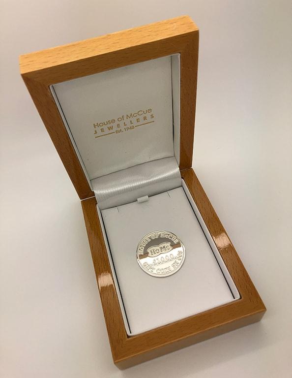 Gift Coin Boxed - Angled Shot